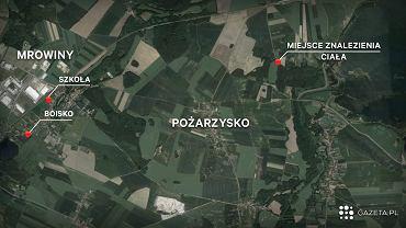 Ciało 10-latki w lesie. Trwają poszukiwania zabójcy. Policja apeluje do kierowców, podali 4 trasy