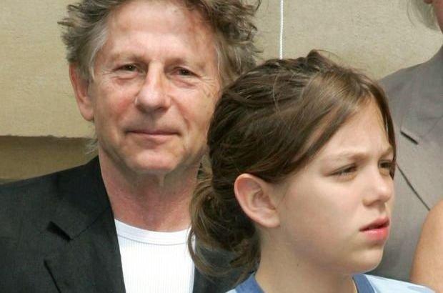 Roman Polański z córką Morgane