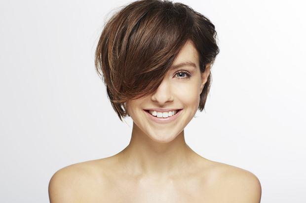 krótka fryzura damska