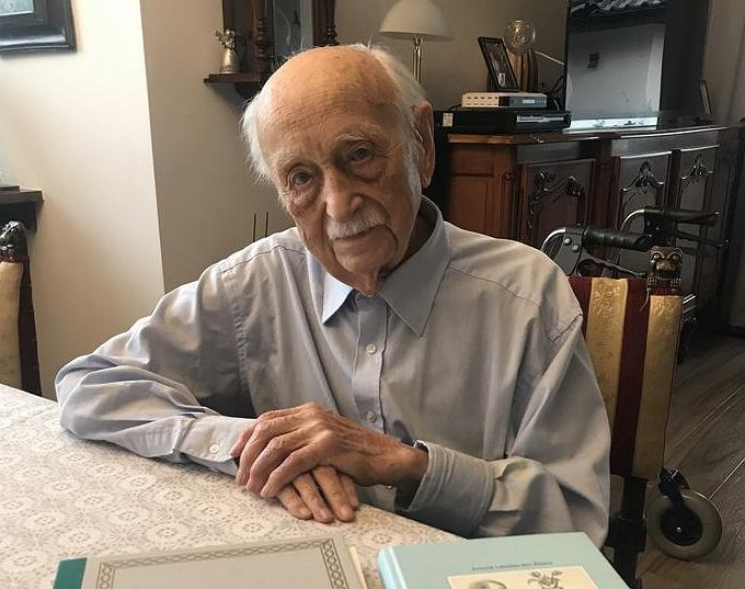 Arnold Leissler mieszka w Polsce i ma 109 lat