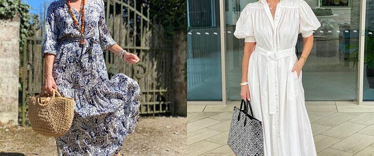 Te sukienki na lato są idealne dla kobiet po 50-tce. Wyszczuplą, odmłodzą i dodadzą Ci wdzięku!