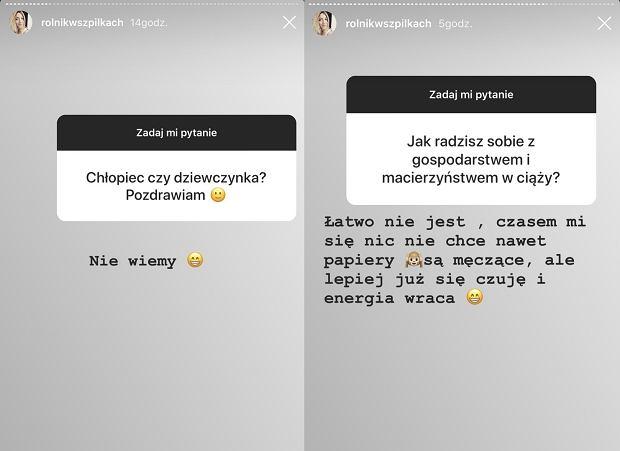 'Rolnik szuka żony' Małgosia Borysewicz