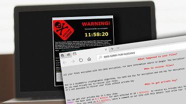 Komputery szpitala zablokowane wirusem SamSam