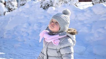 Ciepłe ubrania i obuwie dla dzieci