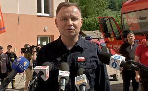 Andrzej Duda na Podkarpaciu. Chce wsp