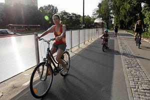 Najlepsza ścieżka rowerowa w Warszawie? Ale nie bez wad
