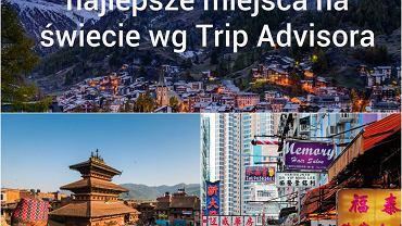 """Doroczne zestawienie Travelers' Choice Award tworzone przez największy serwis turystyczny na świecie TripAdvisor.com to zawsze wielkie wydarzenie. Serwis istnieje od 2000 roku i bazuje na autentycznych recenzjach miejsc, hoteli, restauracji i atrakcji turystycznych tworzonych przez miliony internautów z całego świata. W wielkim głosowaniu co roku wybierane są najlepsze miejsca (główna kategoria), hotele, resorty all inclusive, wyspy, plaże, restauracje itp. Trudno o większe wyróżnienie i reklamę niż znalezienie się w czołówce poszczególnych rankingów - do zwycięskich miejsc ciągną jeszcze większe tłumy turystów. W tym roku w głównym rankingu niestety zabrakło polskich miejsc (udało nam się załapać tylko do """"top 25"""" w Europie). A które miejsca wygrały? Zobaczcie i przeczytajcie wybrane recenzje użytkowników Trip Advisora na ich temat."""