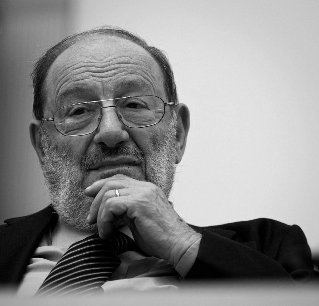 Umberto Eco / Fot. Małgorzata Kujawka / Agencja Gazeta