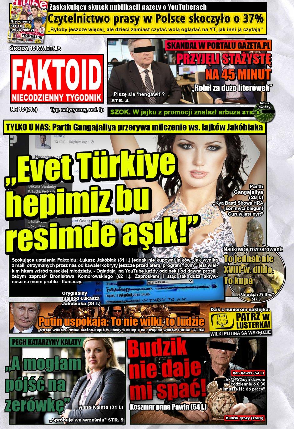 Faktoid: Jakóbiak nie kupował lajków - Faktoid