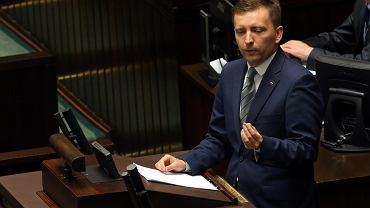 Łukasz Schreiber w Sejmie