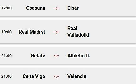 La Liga - sobotnie mecze