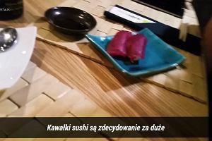Jedyny taki ranking! Ekspert sprawdził, gdzie jest najlepsze sushi w Warszawie