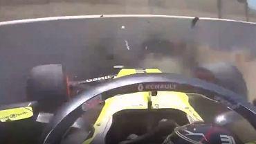 Esteban Ocon z kuriozalnym wypadkiem w trzecim treningu przed kwalifiakcjami GP Hiszpanii Formuły 1