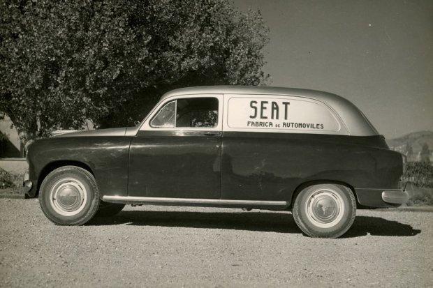 Seat 1400 z nadwoziem typu furgon (fot. Seat)