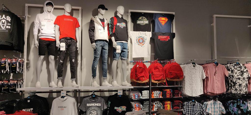 Licencjonowane koszulki męskie