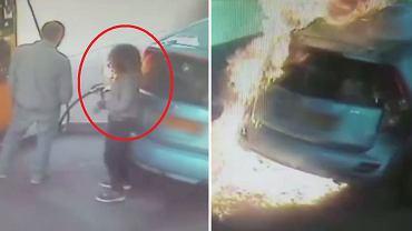 Kobieta podpaliła samochód na stacji benzynowej w Izraelu