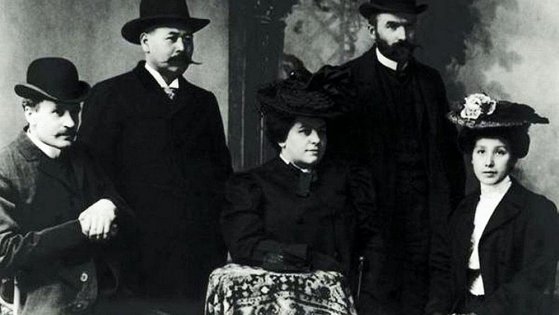 Maria Piłsudska, trzecia od lewej