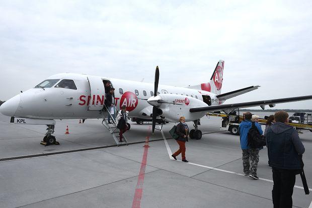 Port Lotniczy Radom SprintAir zawiesza loty do Berlina