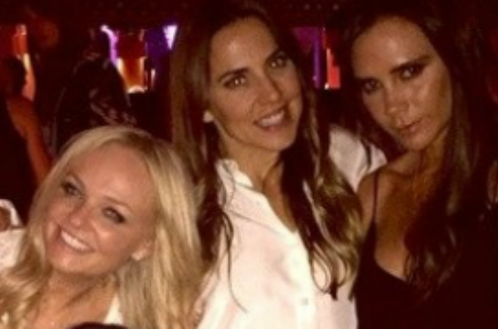 Emma Bunton, Melanie C, Victoria Beckham