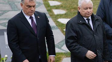Wiktor Orban i Jarosław Kaczyński, Budapeszt 6.04.2018