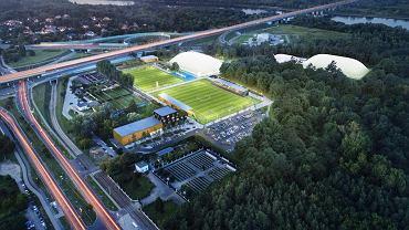 Wizualizacja nowego stadionu Hutnika
