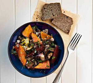 Jesienna sałatka warzywna
