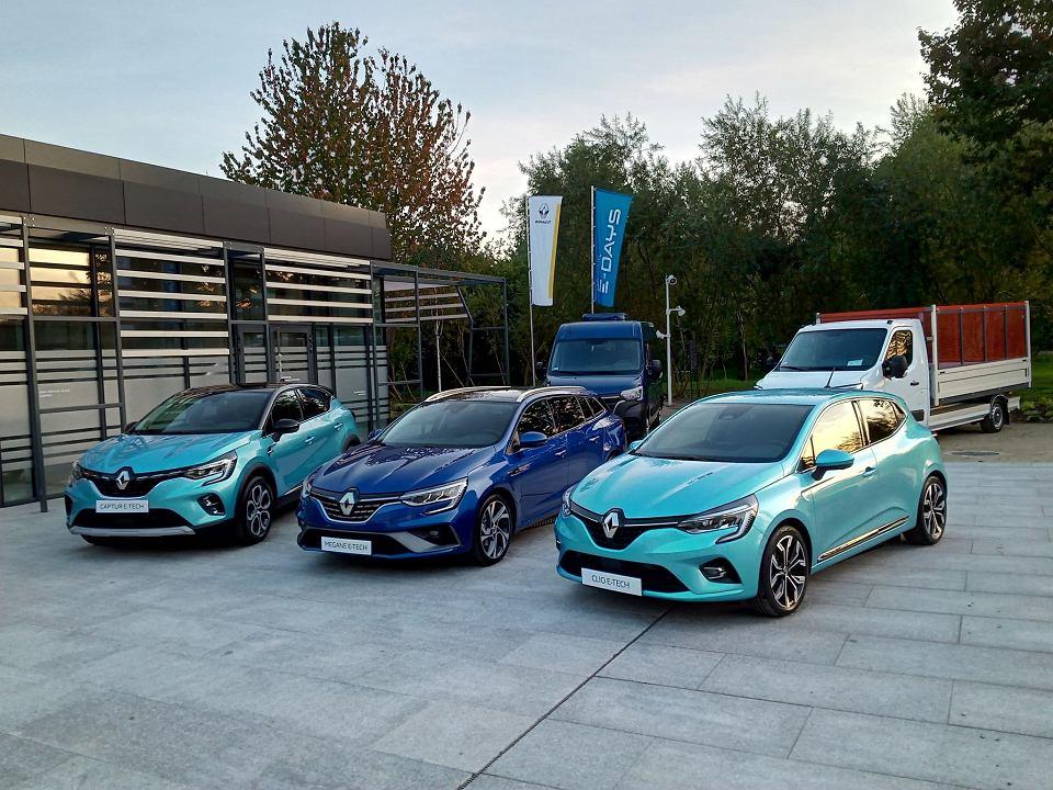 Prezentacja elektrycznych modeli Renault w Sopocie