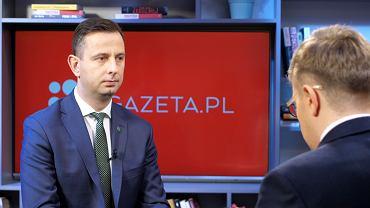 Władysław Kosiniak-Kamysz był gościem Porannej rozmowy Gazeta.pl