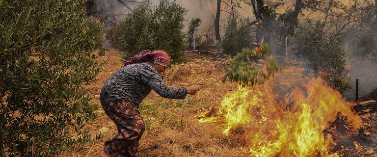 Pożary w Turcji i Grecji. Są ofiary śmiertelne i ranni. Turyści ewakuowani