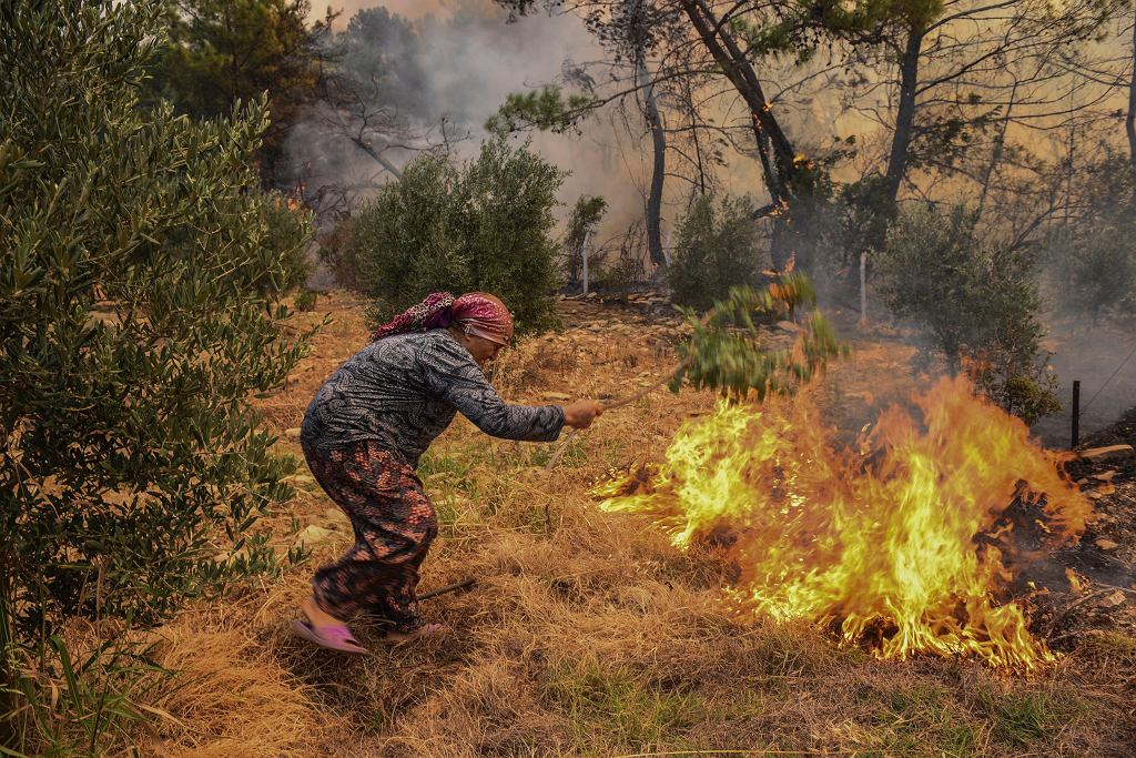 Pożary w Turcji, 31.07.2021