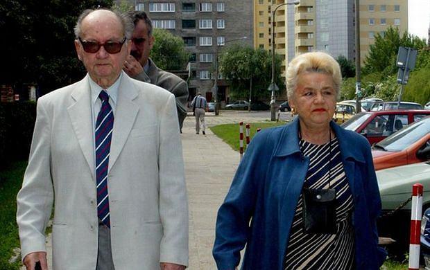 Barbara Jaruzelska, Wojciech Jaruzelski.