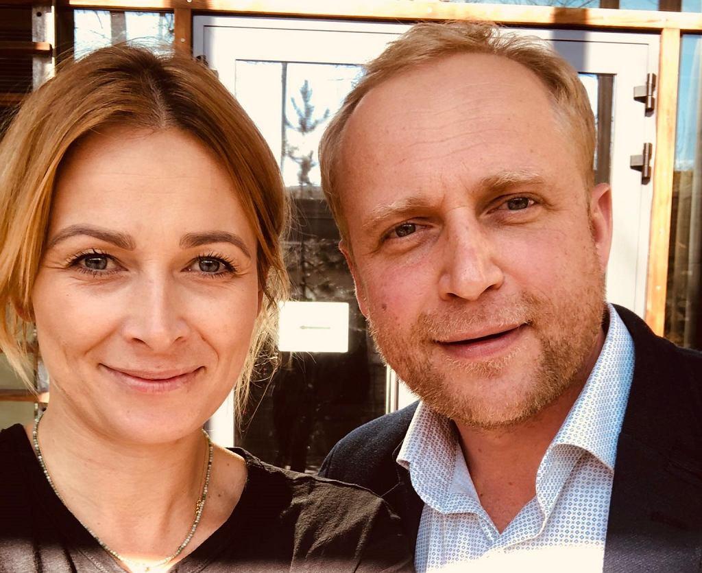 Piotr Adamczyk i Odeta Moro