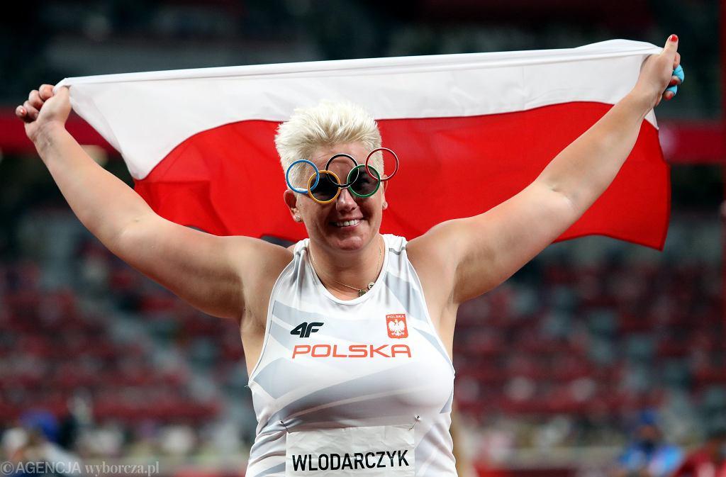 Anita Włodarczyk ze złotym medalem w rzucie młotem na OI w Tokio