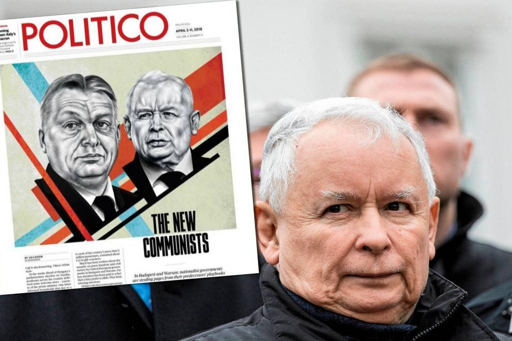 Jarosław Kaczyński i Viktor Orban nazwani 'nowymi komunistami' przez 'Politico'