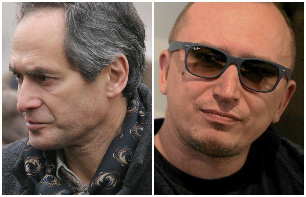 Aktor Jerzy Zelnik i szef Rock Radia Mikołaj Lizut