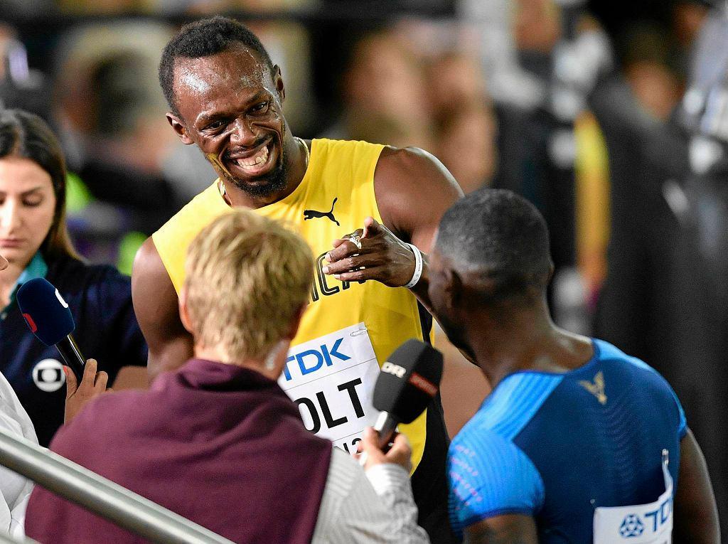 Usain Bolt w Londynie