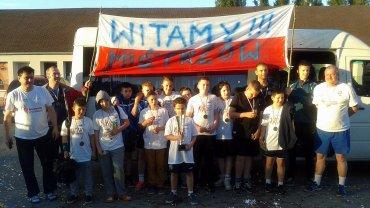 Drużyna UKS Miś Gimnazjum nr 9 Gorzów z brązowymi medalami mistrzostw Polski w kategorii chłopców
