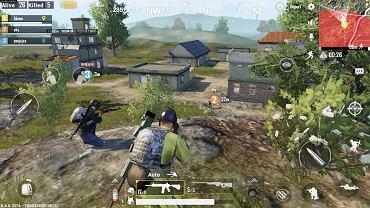 Mobilna wersja znanej gry battle royale - PUBG.