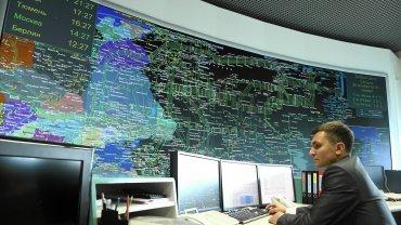 Dyzpozytornia Gazpromu. System informatyczny zbiera wszystkie dane o przesyle gazu w Rosji i całej Europie