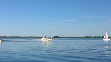 Mazury,  jezioro Dargin
