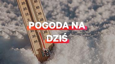 Prognoza pogody na dziś - piątek 25 stycznia
