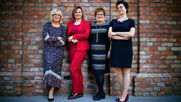 Od lewej: Marzena Wełnicka-Jaśkiewicz, Joanna Streb, Maria Litwiniuk i Barbara Radecka
