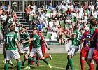 Warta Poznań - Stomil Olsztyn 0:1. Zieloni przegrali sparingowy mecz w Jarocinie