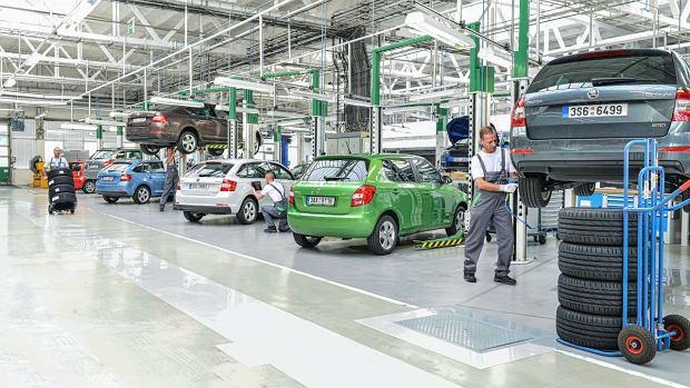 Akcje serwisowe w pierwszym kwartale 2021 r. Czy dużo pojazdów trafiło na przymusowy serwis?