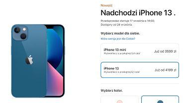 iPhone 13 - ceny