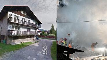 Dom, w którym doszło do wybuchu gazu.