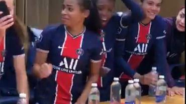 Szalona radość piłkarek PSG w szatni po pokonaniu zawodniczek Lyonu