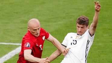 Niemcy - Polska 0:0. Michał Pazdan i Thomas Muller