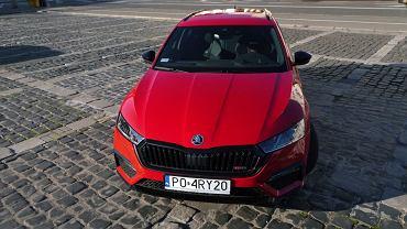 Skoda Octavia RS iV w Studiu Biznes