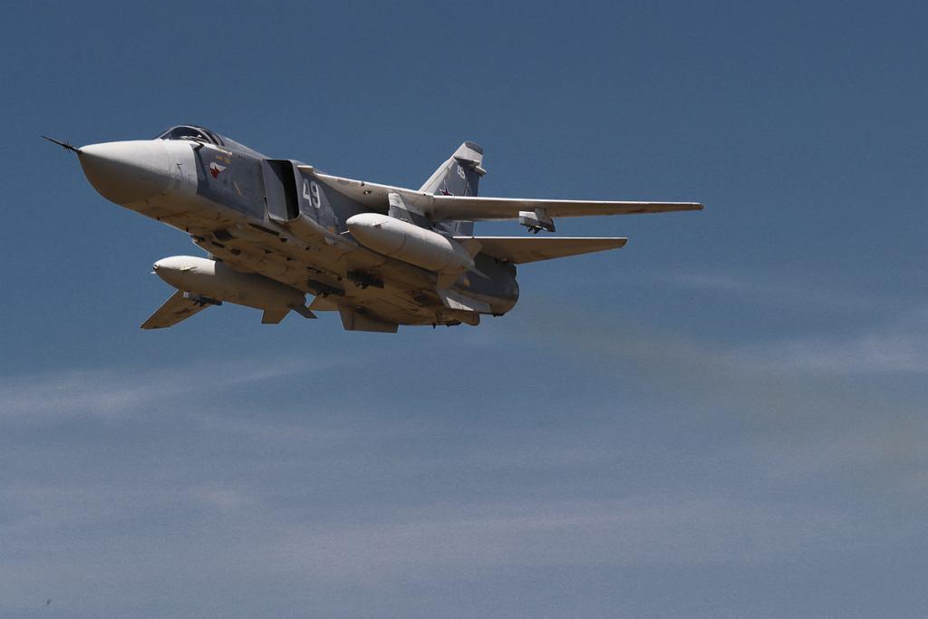 Rosyjski bombowiec taktyczny Su-24